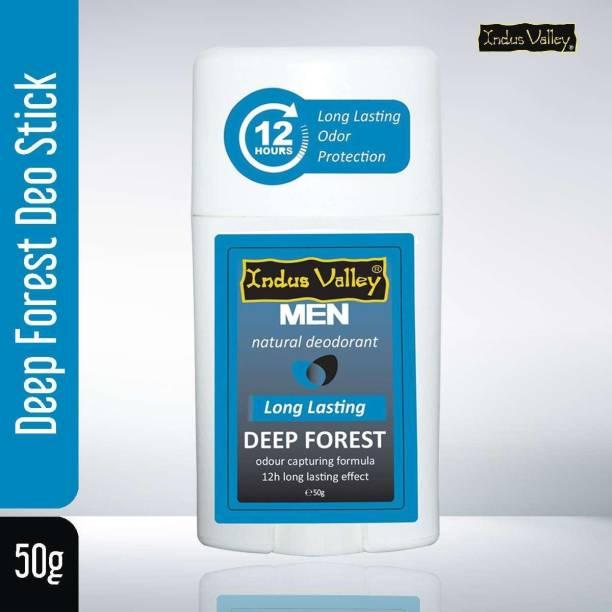 Indus Valley Natural Long Lasting Deep Forest Deodorant Stick - For Men, Women Deodorant Stick  -  For Men & Women