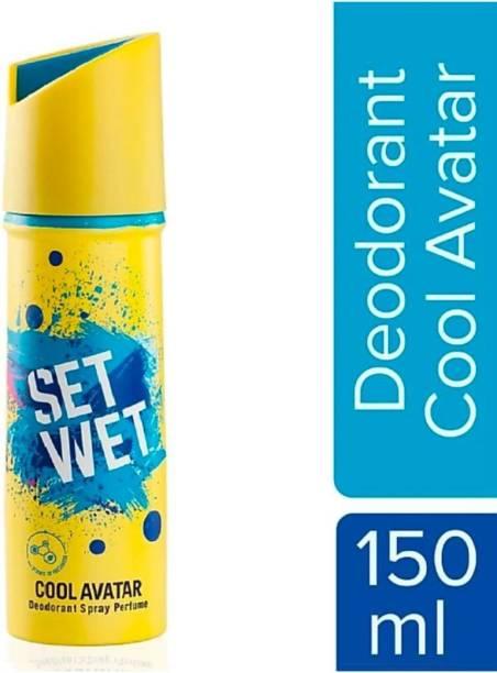 SET WET Cool Avatar Deodorant & Body Spray Perfume Deodorant Spray - For Men Deodorant Spray  -  For Men & Women
