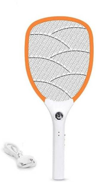 DPM 312 Heavy Duty Mosquito Bat/ Mosquito Racket With Torch & Charging Wire RECHARGEABLEI MOSQUITO SWATTER NET HIGT CAPACITY BATTERY 500mAH Electric Insect Killer