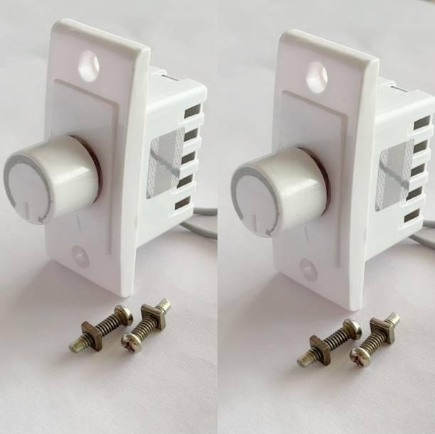 HI-PLASST SWITCH DIMMER -2PCS FAN REGULATOR Step-Type Button Regulator