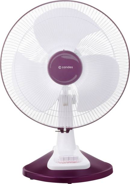 Candes 16TFWC03 400 mm Ultra High Speed 3 Blade Table Fan
