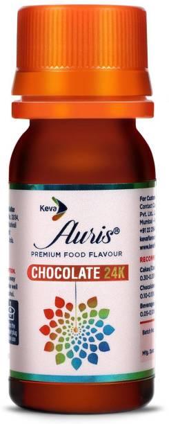 Auris Chocolate 24K Food Flavour Essence for Baking Cake, Chocolates, Indian Sweets Chocolate Liquid Food Essence