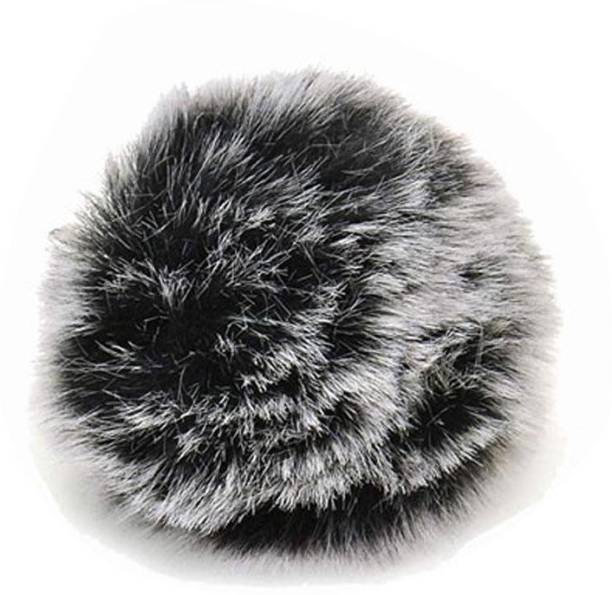 Stela ST-B05 Fur Windshield for Lavalier Mic, 1 Pack, Gray Fur Windscreen for Lavalier microphone