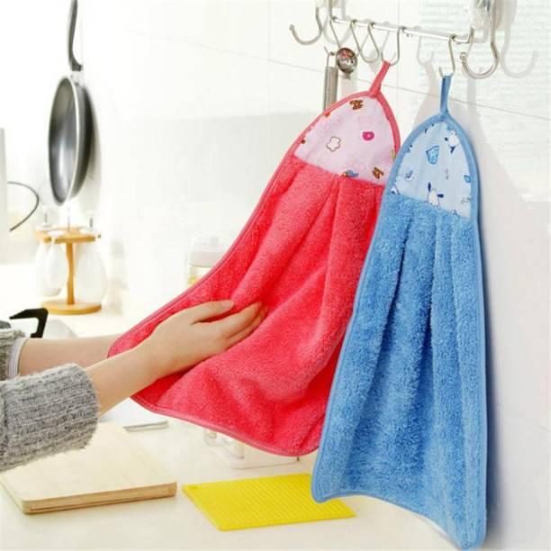 Kdecor Kitchen Napkin Towel Red Line Napkins