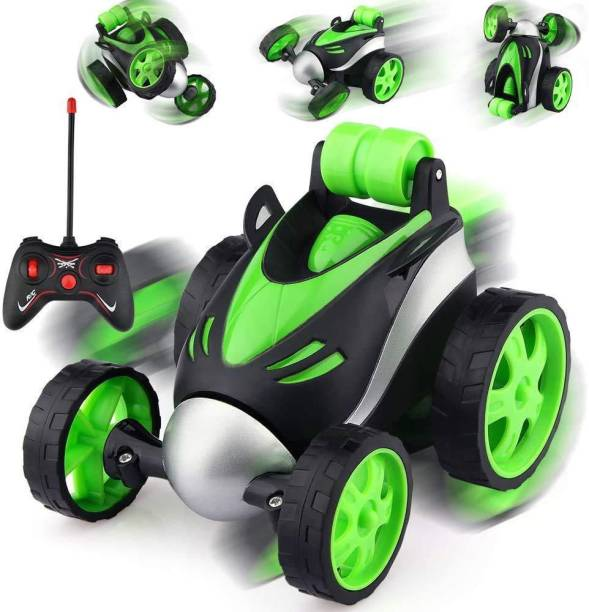 Tee Turtle Remote Control Car -, 360 Degree Rotation Racing Car, Rc Cars Flip and Roll, Stunt Car Toy for Kids