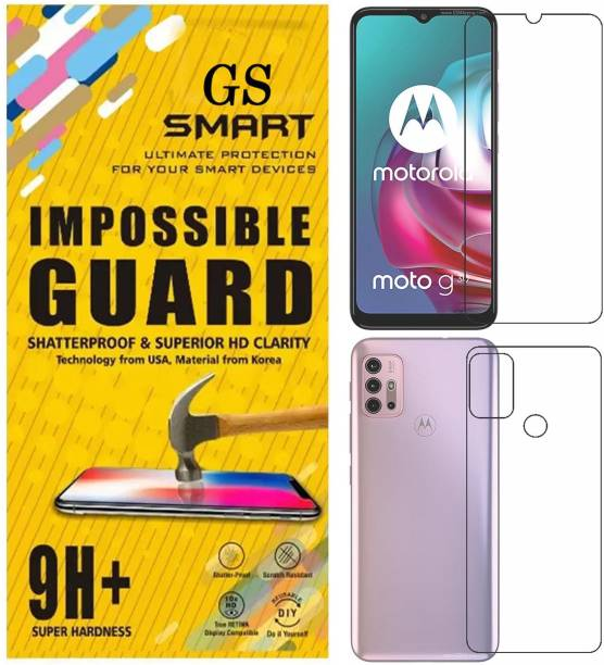 GS Smart Front and Back Screen Guard for Motorola Moto G30 {Flexible}, PAML0000IN, G30