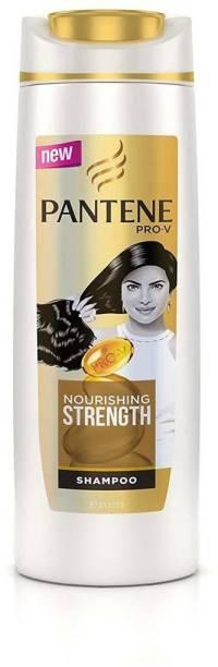 PANTENE PRO-V Nourishing Strength Shampoo, 340 ML Pack of 1