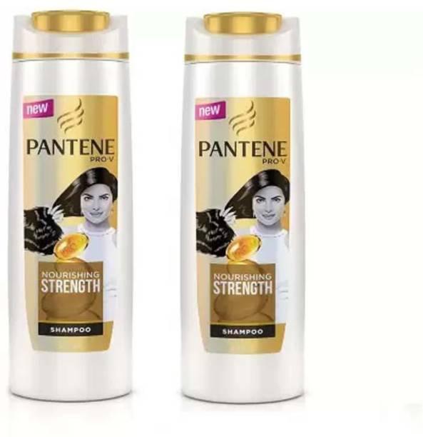 PANTENE PRO-V Nourishing Strength Shampoo, 360ml PACK OF 2 (680 ML)