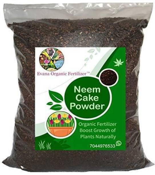 Evana Organic Fertilizer Neem Cake Powder for Plants | Neem Khali | Pure and Organic Fertilizer