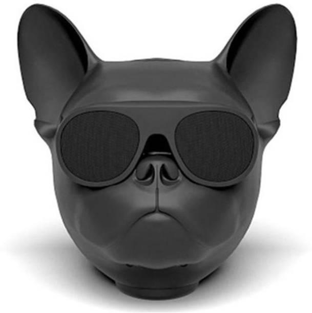 Creative Dizayn Bluetooth Speaker Dog Head Stereo Bass Portable Wireless Speaker Bluetooth 4.1 Outdoor 10 Bluetooth Speaker 10 W Bluetooth Speaker