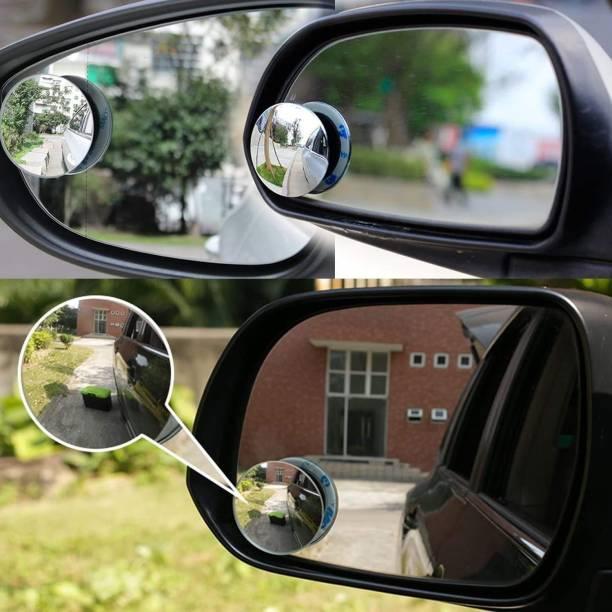 Welrock Manual Blind Spot Mirror For Suzuki, Skoda, Toyota, Maruti Suzuki, Mahindra, Volkswagen, Hyundai, Tata, BMW, Ford i20 Elite, Indigo CS, Creta, WagonR, XUV 500