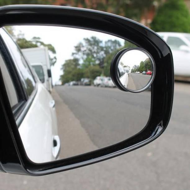 Welrock Manual Blind Spot Mirror For Volkswagen, Mahindra, Suzuki, Hyundai, Maruti Suzuki, Toyota, BMW, Ford, Tata, Renault, Nissan, Honda WagonR, Swift Dzire, Creta, i20 Elite, XUV 500, Swift, Indigo, Vento