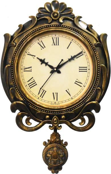 Brothers creation Analog 39 cm X 34 cm Wall Clock