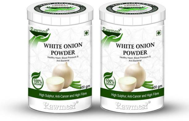 Rawmest Organic Ayurvedic Dried White Onion Powder