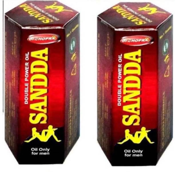 Dr Chopra Sandda Double Power Massage Oil For Men 15*2=30 ML (Pack Of 2)