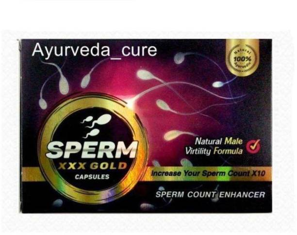 Dr Chopra Sperm XXX Gold To INCREASE YOUR Sperm Counts And Power , 50 capsules
