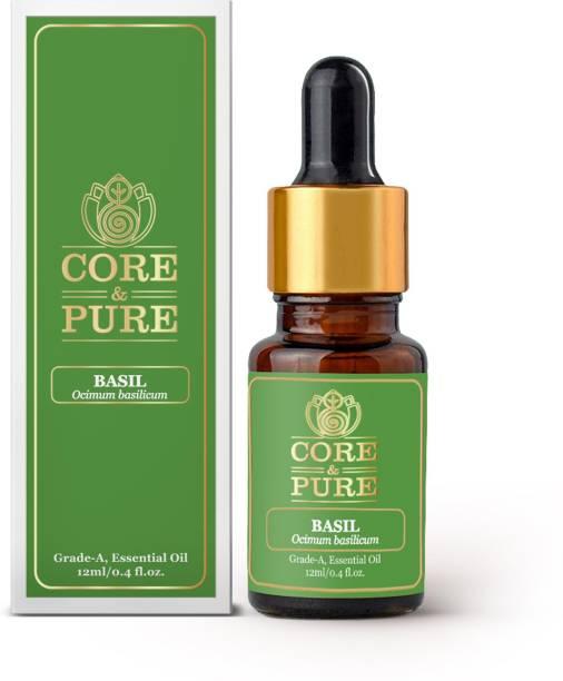 CORE & PURE Basil Grade-A, Essential Oil