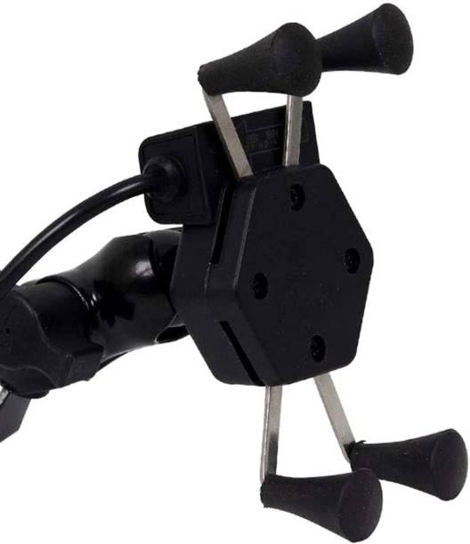 Welrock X Grip 360 Degrees Mobile Holder with Adjustable Handlebar Bike Mobile Holder