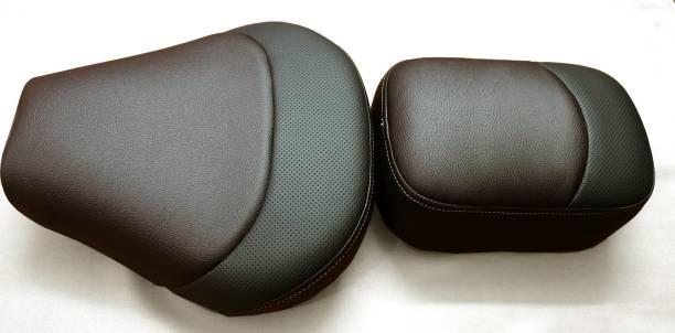Royal seat covers RE gun metal gray bike seat Dark brown color Split Bike Seat Cover For Royal Enfield Bullet Classic