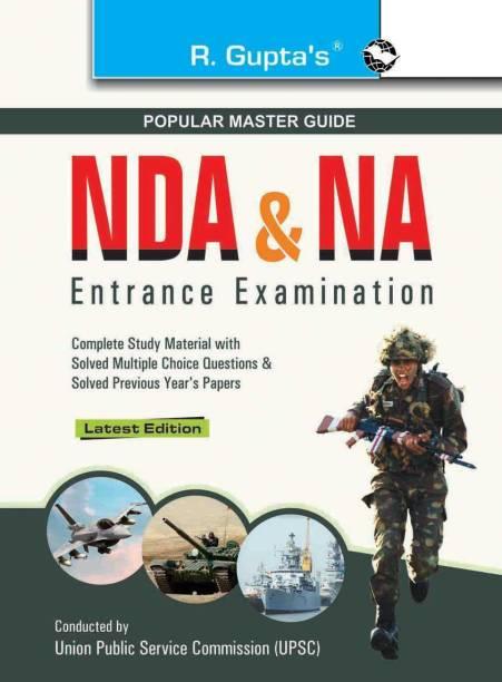 Nda & Na National Defence Academy Naval Academy - Entrance Examination Guide (Big Size) 2022 Edition