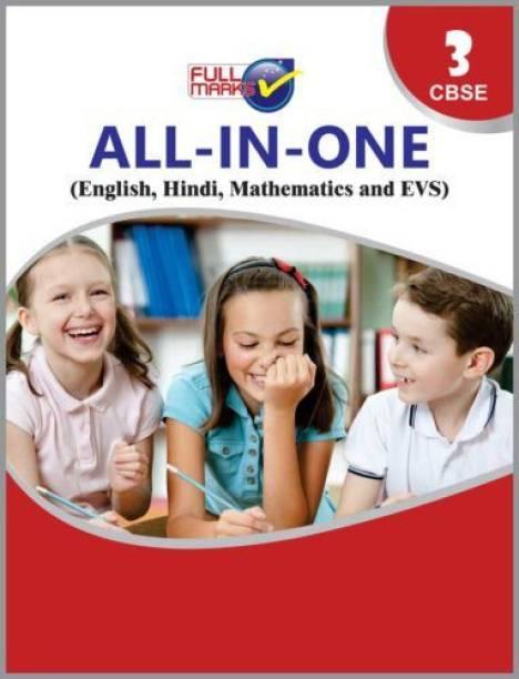 All In One Class 3 CBSE (English, Hindi, Mathematics & EVS) (2020-21) 2020-21 Edition