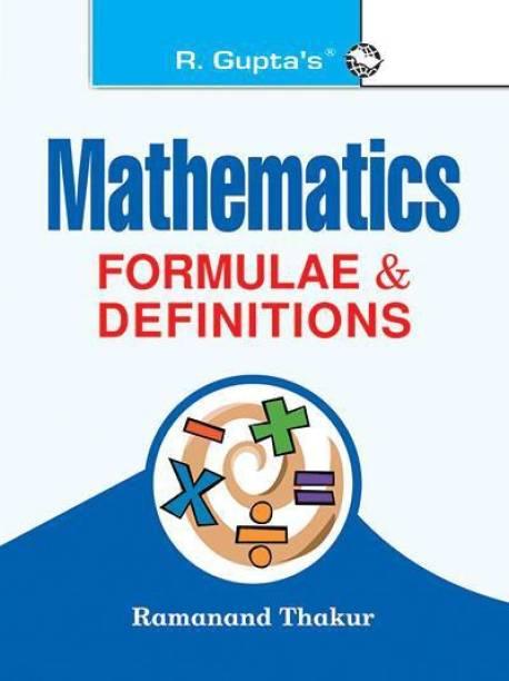 Mathematics Formulae & Definitions - (Pocket Book) 21 Edition