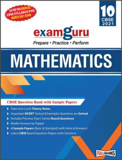 Examguru All In One CBSE Chapterwise Question Bank For Class 10 Mathematics (March 2021 Exam) 1 Edition