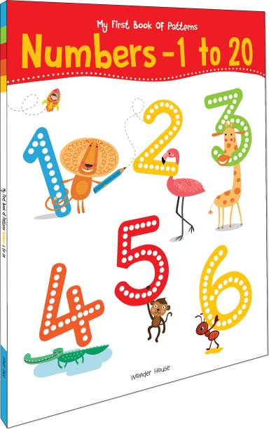 My First Book of Patterns Numbers 1 to 20 - By Miss & Chief
