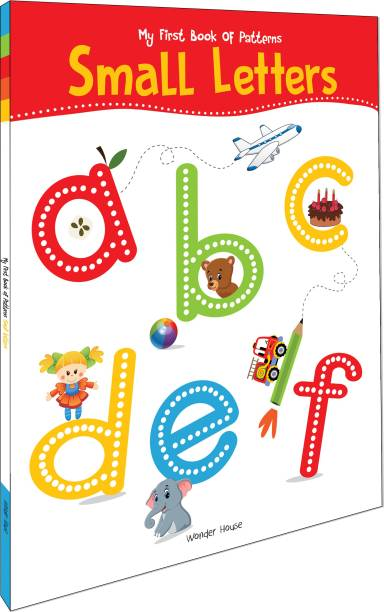 My First Book of Patterns Small Letters - By Miss & Chief