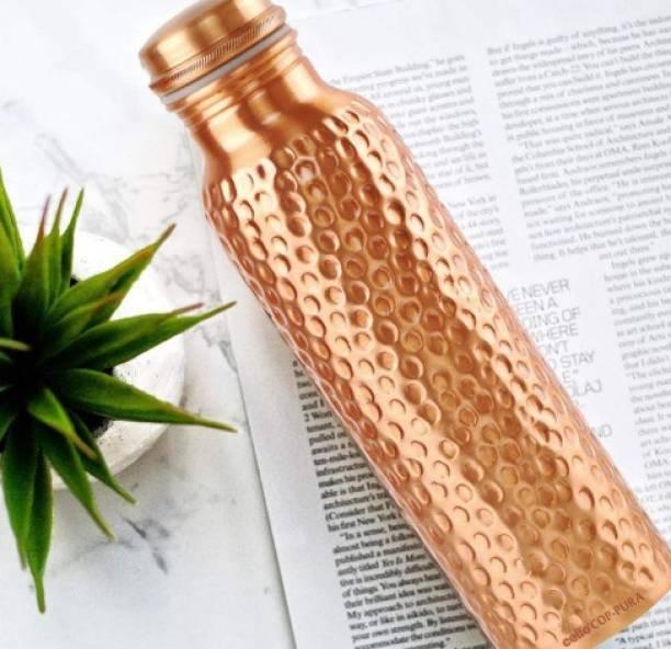 E mart Copper Water Bottle-58 1000 ml Bottle