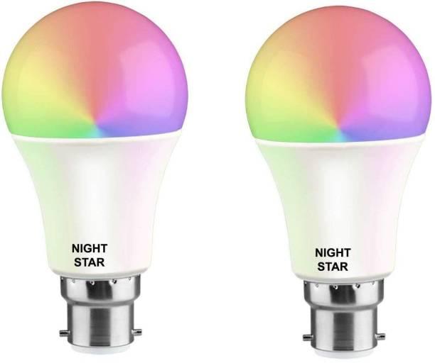 Nightstar 9 W Round B22 LED Bulb