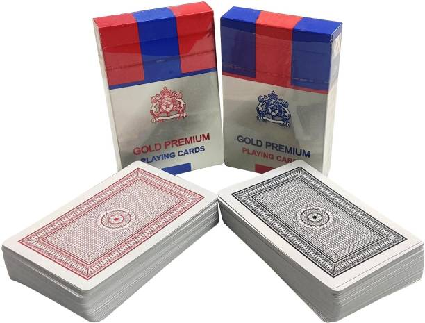 Gift Collection Mascot Gold Premium Playing Cards with 2 Set of Cards