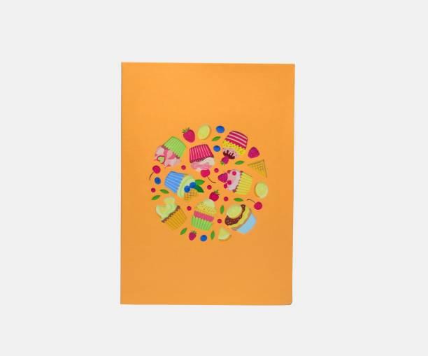 cardpop Cupcake 3D pop up Greeting Card