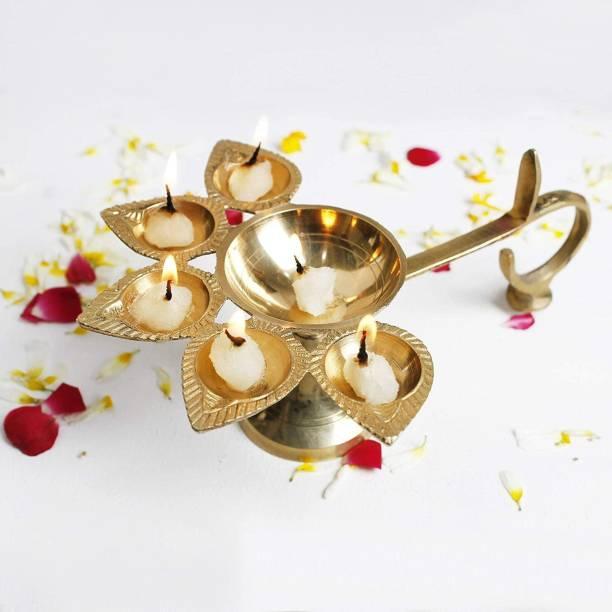 Rolimoli Brass table diya Brass Table Diya