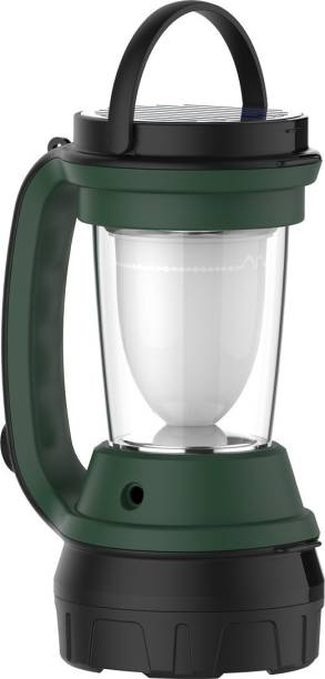 HAVELLS 2 in 1 LED Lantern Cum Torch with Solar Panel Rechargeable Feature Lantern Emergency Light