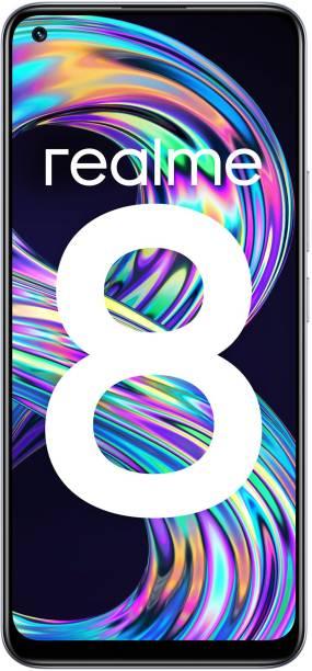 realme 8 (Cyber Silver, 128 GB)