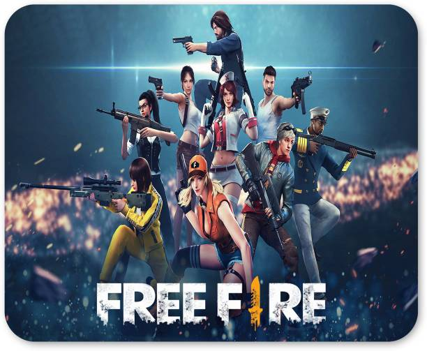 The Printpack Mouse Pad FreeFire Premium Mousepad