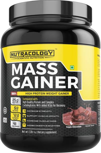 Nutracology Mass Gainer Weight Gainers/Mass Gainers