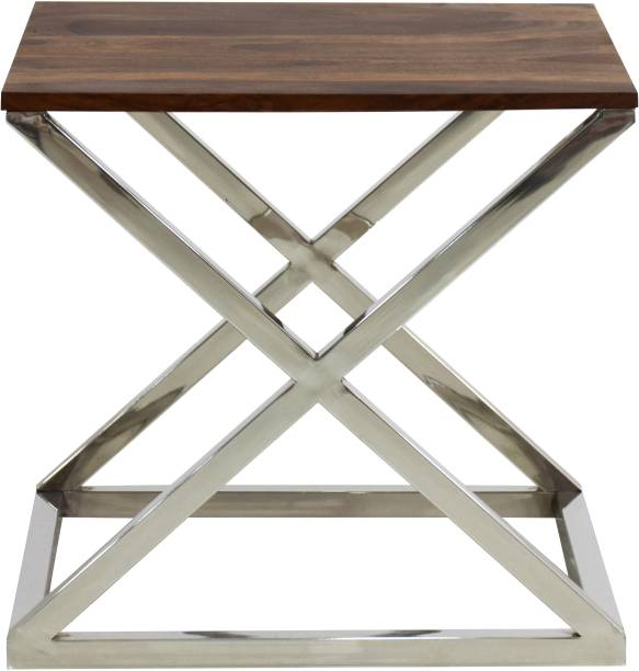 TimberTaste TT-JUI-ST-PTSB Steel Side Table