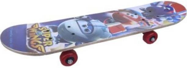 S.V.Enterprises skateboard with Durable PU wheel 6 inch x 24 inch Skateboard 24 inch x 6 inch Skateboard
