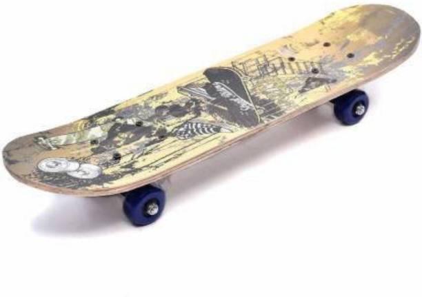 S.V.Enterprises Wooden Composite Printed Small Size 12 inch x 5 inch Skateboard 12 inch x 5 inch Skateboard
