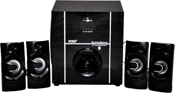 """prass SUPERSONIC WITH 8"""" SUB WOOFER 108 W Bluetooth Home Theatre"""