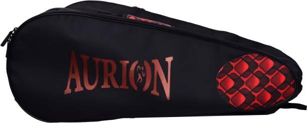 Aurion Badminton,Squash Racket Bag, Shoulder Racket Bag For 6Racquet Waterproof Dustproof