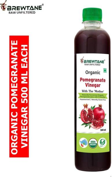 BREWTANE Organic Pomegranate Vinegar Vinegar