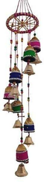 khushbu handicrafts Beautifully Designed windchime for home and office wall decoration I home decor I wall decoration items I door decoaration material I wall hanging I decorative items for decoration Wood Windchime