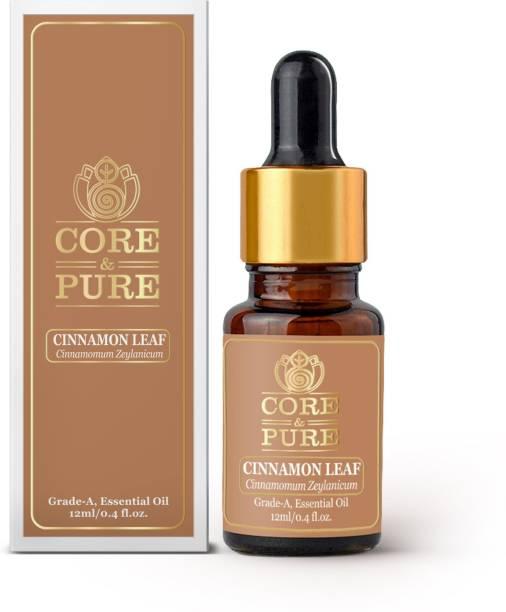 CORE & PURE Cinnamon Leaf Grade-A, Essential Oil
