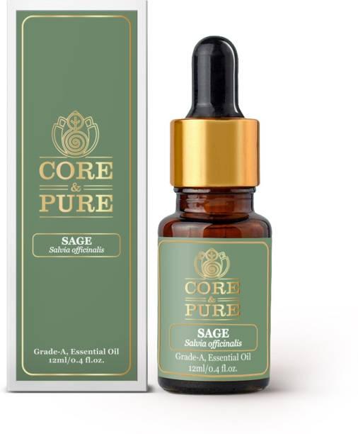 CORE & PURE Sage Grade-A, Essential Oil