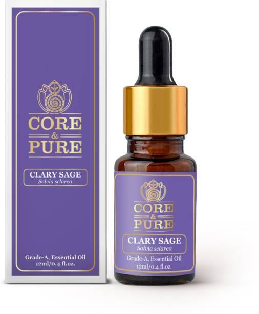CORE & PURE Clary Sage Grade-A, Essential Oil