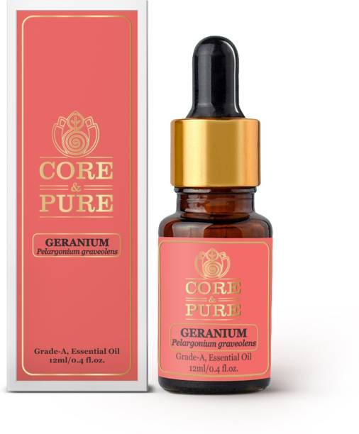 CORE & PURE Geranium Grade-A, Essential Oil