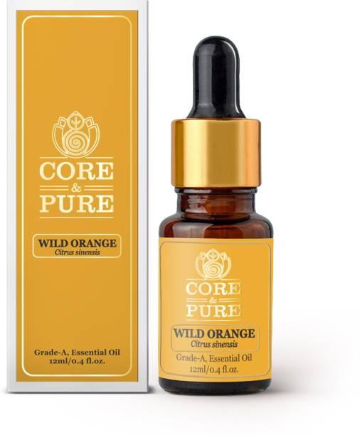 CORE & PURE Wild Orange Grade-A, Essential Oil